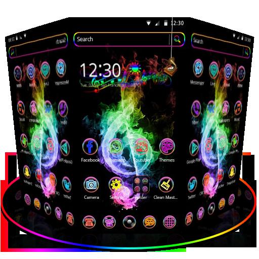 Neon Music theme (app)
