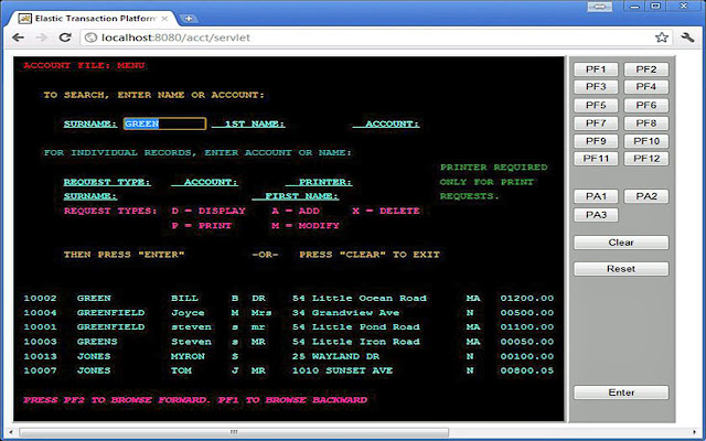 Elastic COBOL