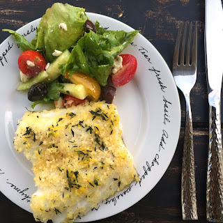 Sea Bass Fillet Recipe With Garlic Butter And Herbs