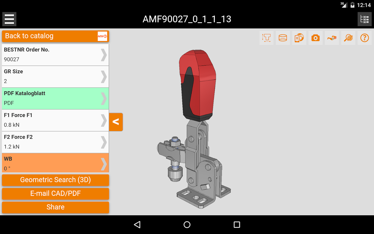 Clamping technology & systems- screenshot