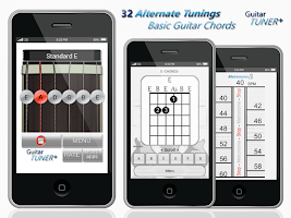 Screenshot of Guitar Tuner Plus