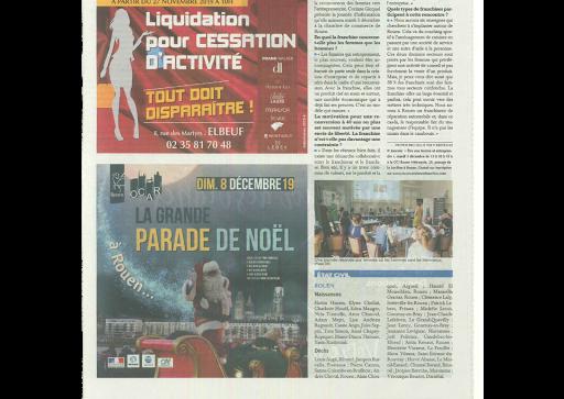 Article paris Normandie pour reconversionenfranchsie.com