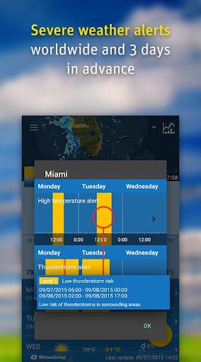 WeatherPro Free screenshot 4