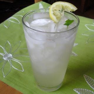 Fresh Mint Lemonade.
