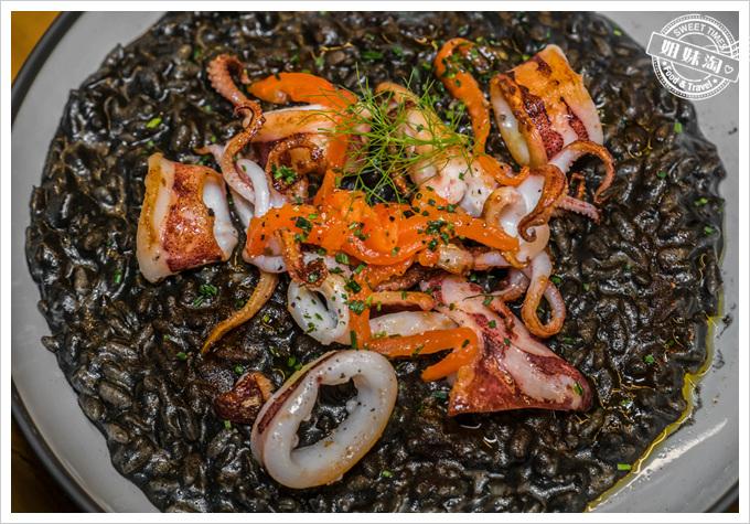 挑食Gien jia乾煎小卷與墨魚燉飯
