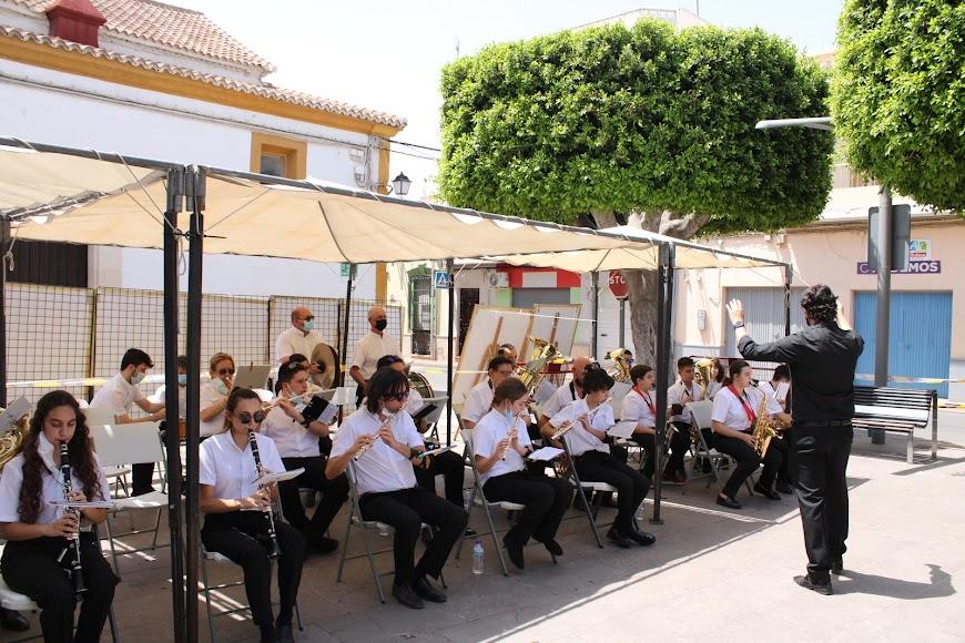 La Banda Sinfónica de Huércal de Almería.