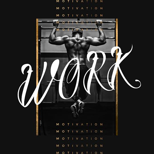 Motivation & Work - Instagram Post Template