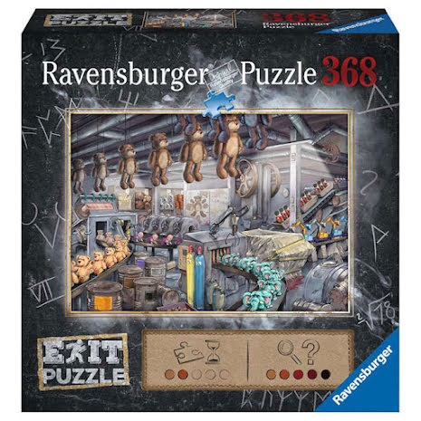 Puzzle EXIT 10: Toyfactory