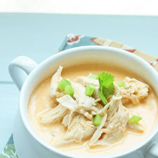 Keto Buffalo Chicken Soup.