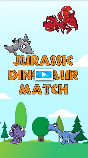 Jurassic Dinosaur Match