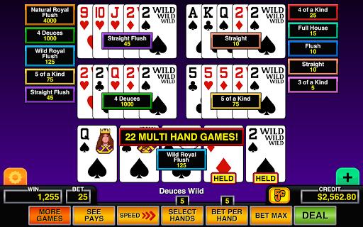 Video Poker Multi Hand Casino 1.2 screenshots 1