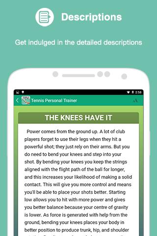 Tennis: Personal Trainer- screenshot