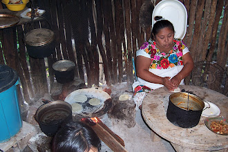 Photo: Mayan kitchen