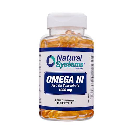 aceite de pescado omega 3 1000mg 100capsulas natural system