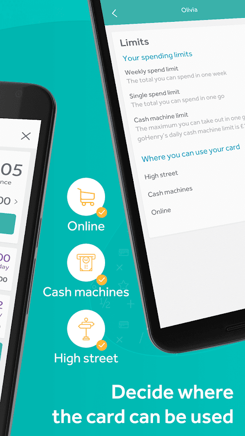 goHenry - the pocket money app for young people- screenshot