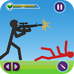 Stickman Shotgun Shooting Icon