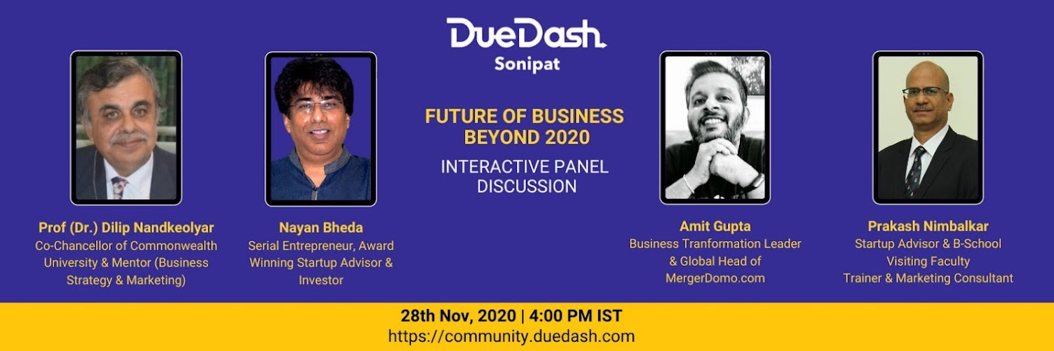DueDash Sonipat - Future of Business Beyond 2020
