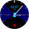 Radial Pulse Watchface