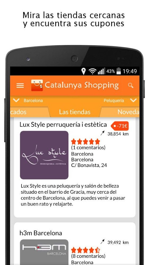 Catalonia Shopping- screenshot