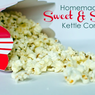 Homemade Sweet and Salty Kettle Corn Recipe