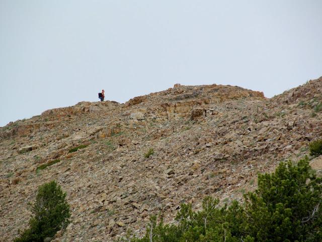 John at the summit of Deseret Peak