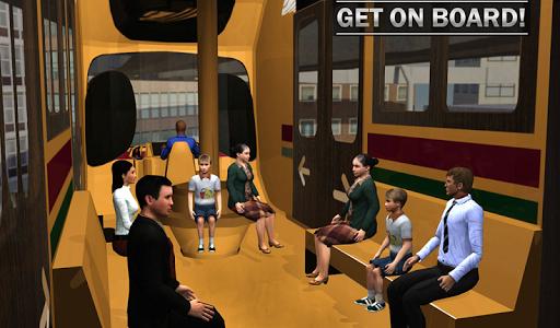 Elevated Train Driving Simulator: Sky Tram Driver apktram screenshots 20
