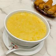 28. Pumpkin and Sweet Corn Congee 粟米粒南瓜粥
