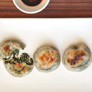 Charles Phan's Famous Chive Cakes.