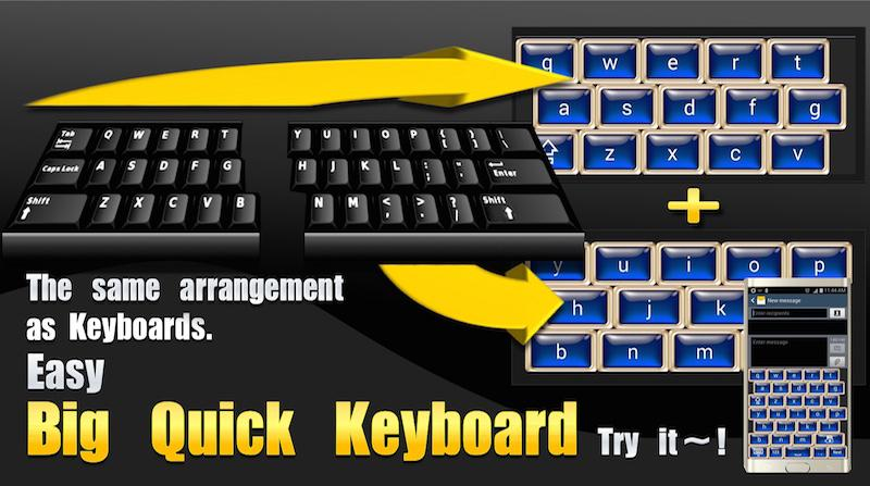 Big Quick Keyboard