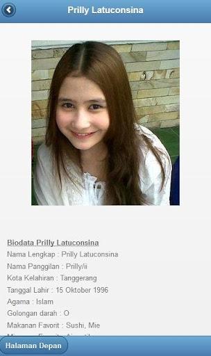 Foto Biodata Artis Indonesia