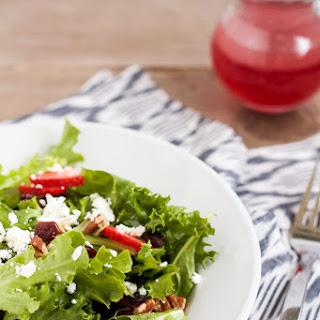 Strawberry Fields Salad.