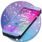 Pink Bubble GO Theme icon