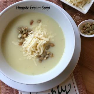 Chayote Cream Soup.