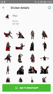 🔥 Stickers Avengers for WhatsApp 🔥 Screenshot