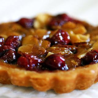Cranberry, Caramel and Almond Tart Recipe