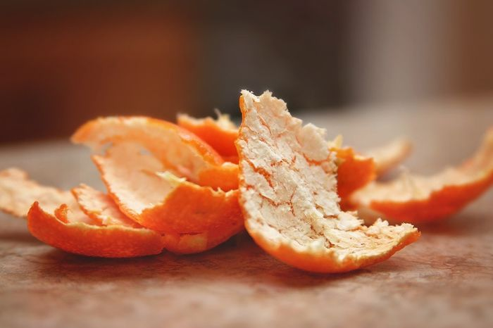قشر البرتقال التوضيح