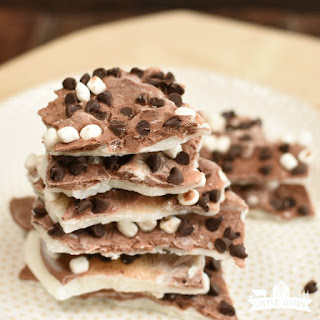 S'mores Greek Yogurt Bark.