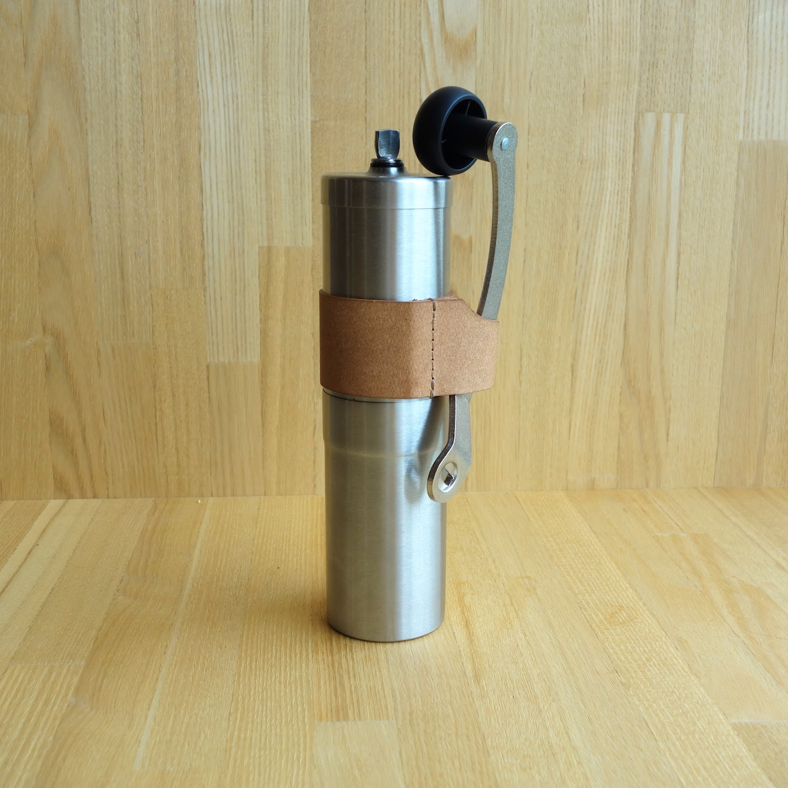 ポーレックス コーヒーミル2 ハンドルホルダー収納状態