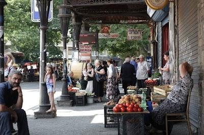 Kleine und kleinste Händler sind in Georgien der Normalfall.
