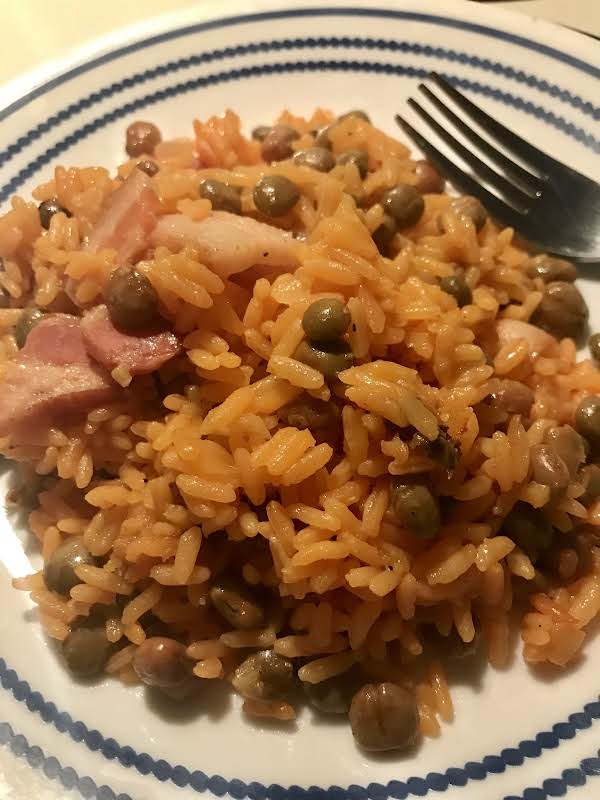 Rice Cooker Arroz Con Gandules