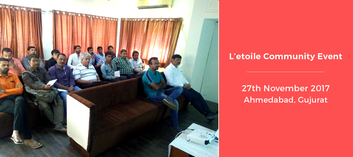 Letoile Home Automation Community event Ahmedabad, India - L