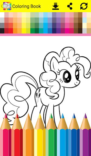 Coloring Book For Little Pony Apk 11