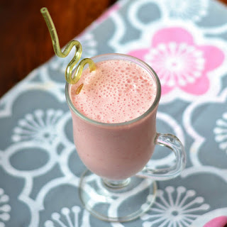 Raspberry Vanilla Smoothie.