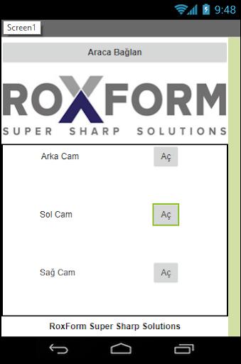 RoxForm Smart Canopy screenshot 1