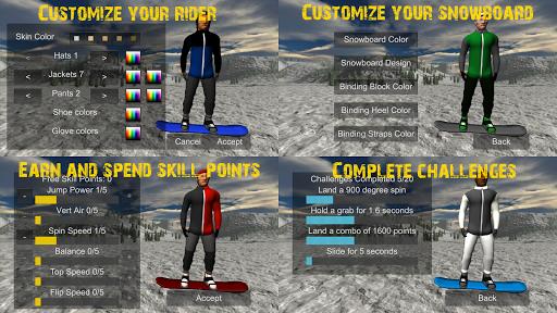 Snowboard Freestyle Mountain 1.09 Mod screenshots 4