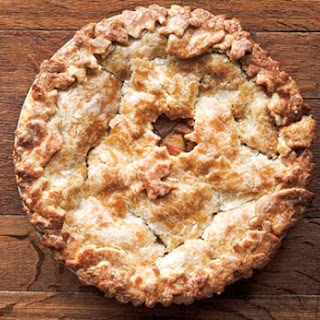 Hot Buttered Rum Apple Pie.