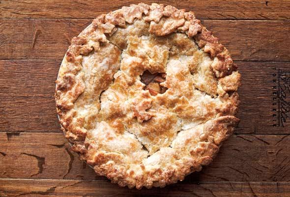 Hot Buttered Rum Apple Pie Recipe