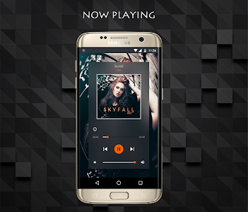 Edge Screen Music player screenshot 1