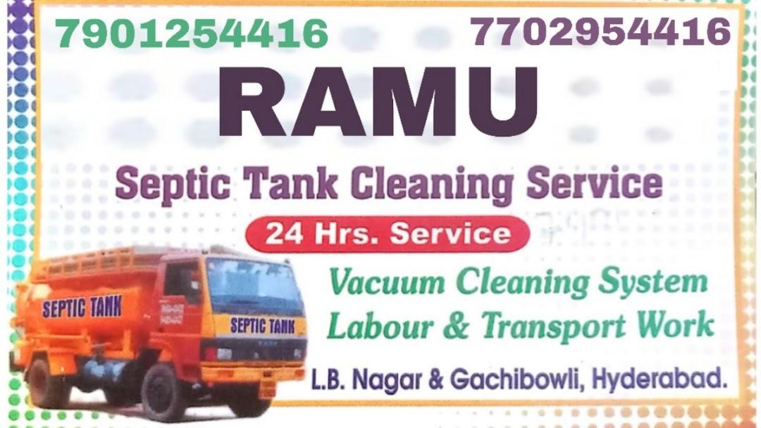 Ramu Septic Tank Cleaning Services in hyderabd - Ramu Septic