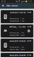 Screenshot of Bike Sensor